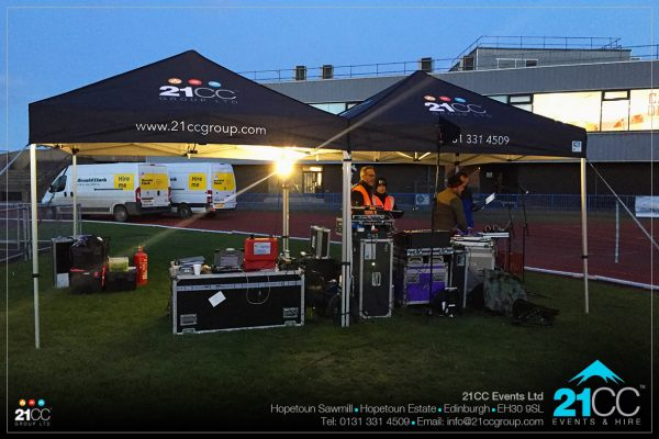 Event control and event production by 21CC Events Ltd