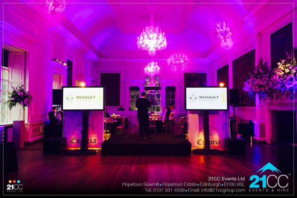 Event production & planning by 21CC Events Ltd
