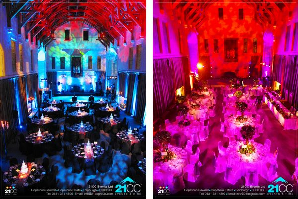 event design and layout by 21CC Events Ltd