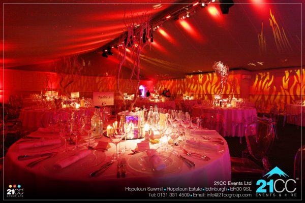 Fire & Ice themed event company by 21CC Events Ltd