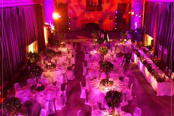 lighting for events scotland by 21CC Events
