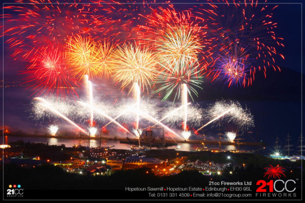 tall ships world races finale by 21CC Fireworks Ltd