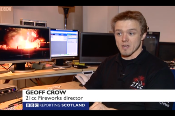 Fireworks Industry Expert For The BBC